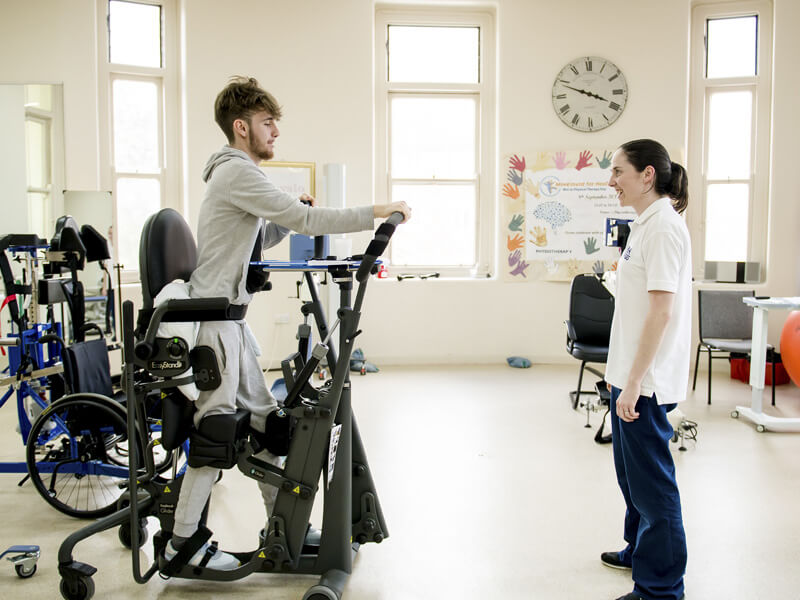 Better equipment for physical rehabilitation