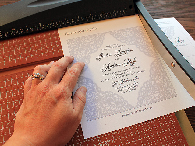 DIY Wedding Invitations for the Budget Bride