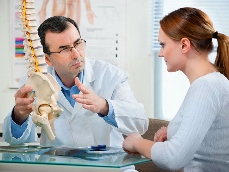 Do you have symptoms of a spinal hernia?